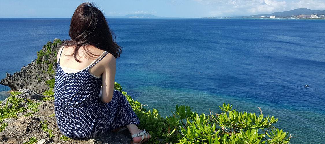 2016。沖繩。藍洞