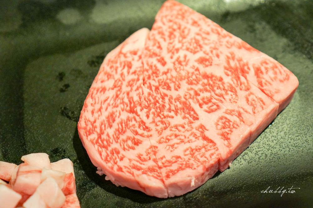 日本A5和牛的最完美料理方式:夏慕尼新香榭鐵板燒