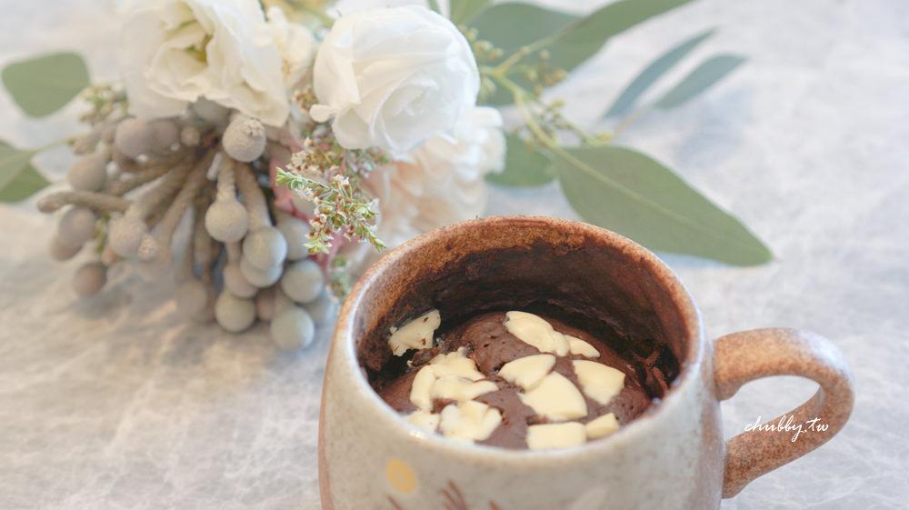 │三分鐘微波爐甜點│新手媽媽必學!超萌海豹麻糬、杯子蛋糕