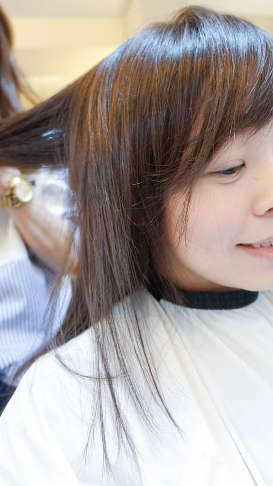 台北中山區髮廊│in circle│剪染護髮還是很柔順的秘密!│近捷運中山站4號出口