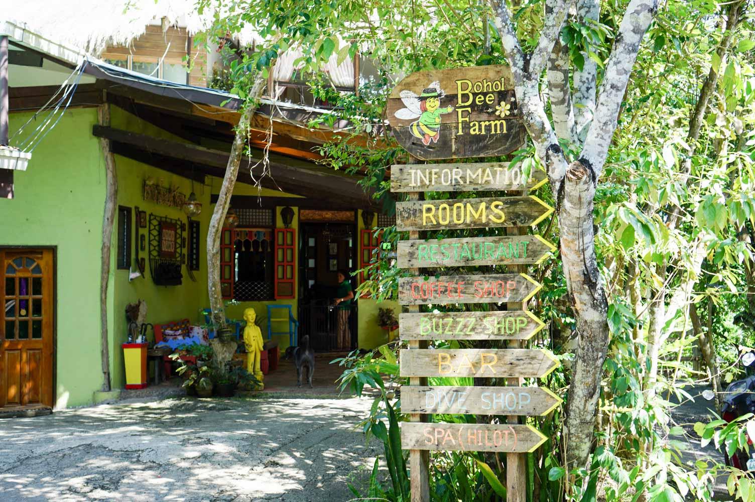 薄荷島美食餐廳│蜜蜂農場Bohol Bee Farm Resort│兩間分店比較心得、薄荷島必訪有機餐廳