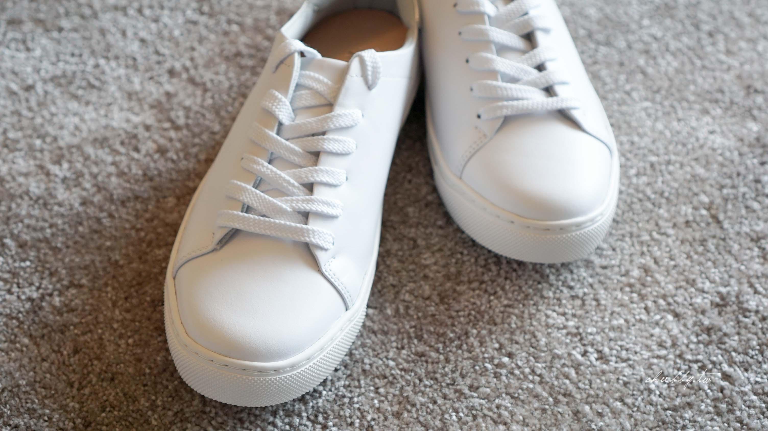 必備休閒鞋推薦│真正mit台灣手工鞋 兩款小白鞋穿搭