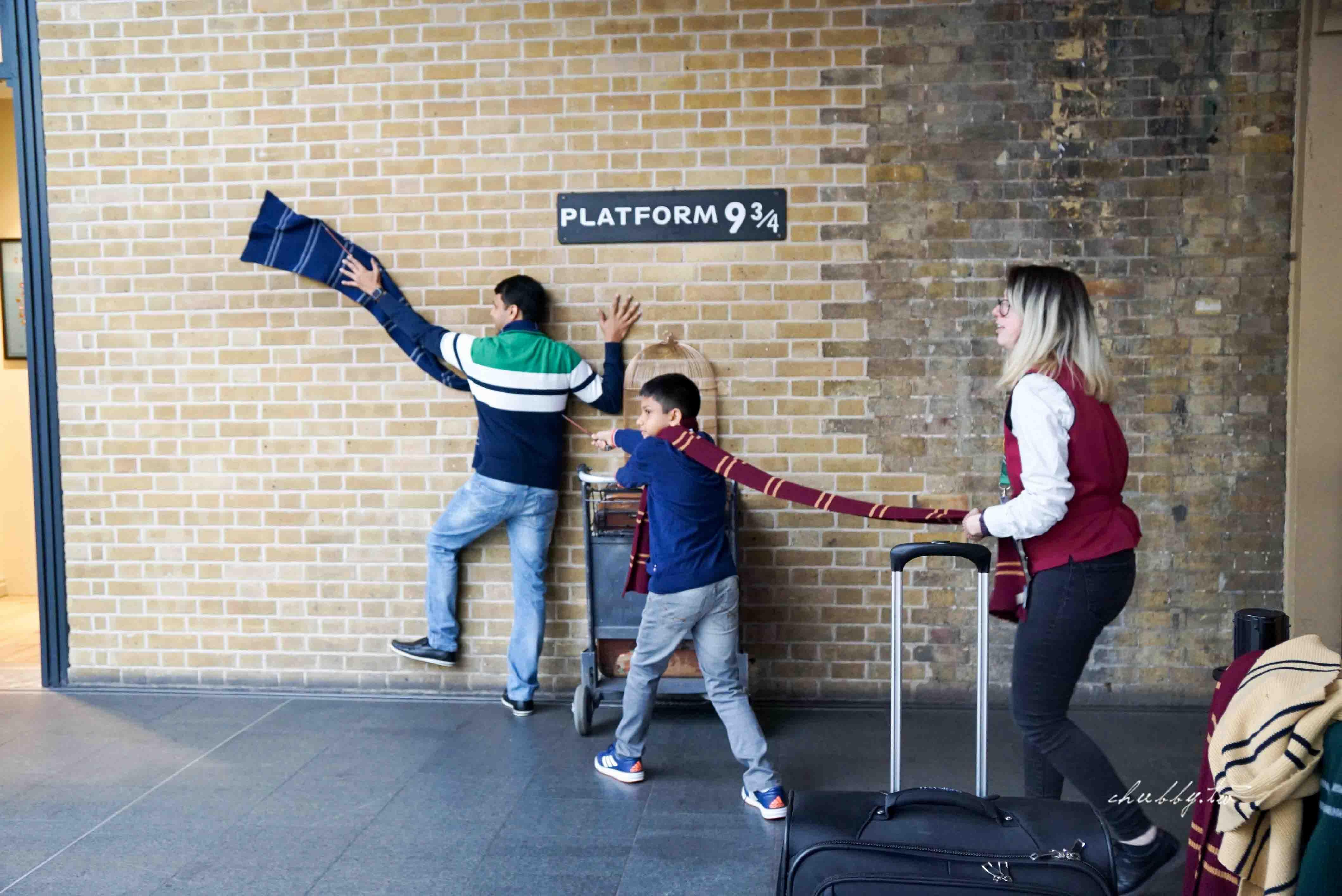 英國倫敦景點│王十字車站 哈利波特 9又3/4月台 拍攝攻略分享