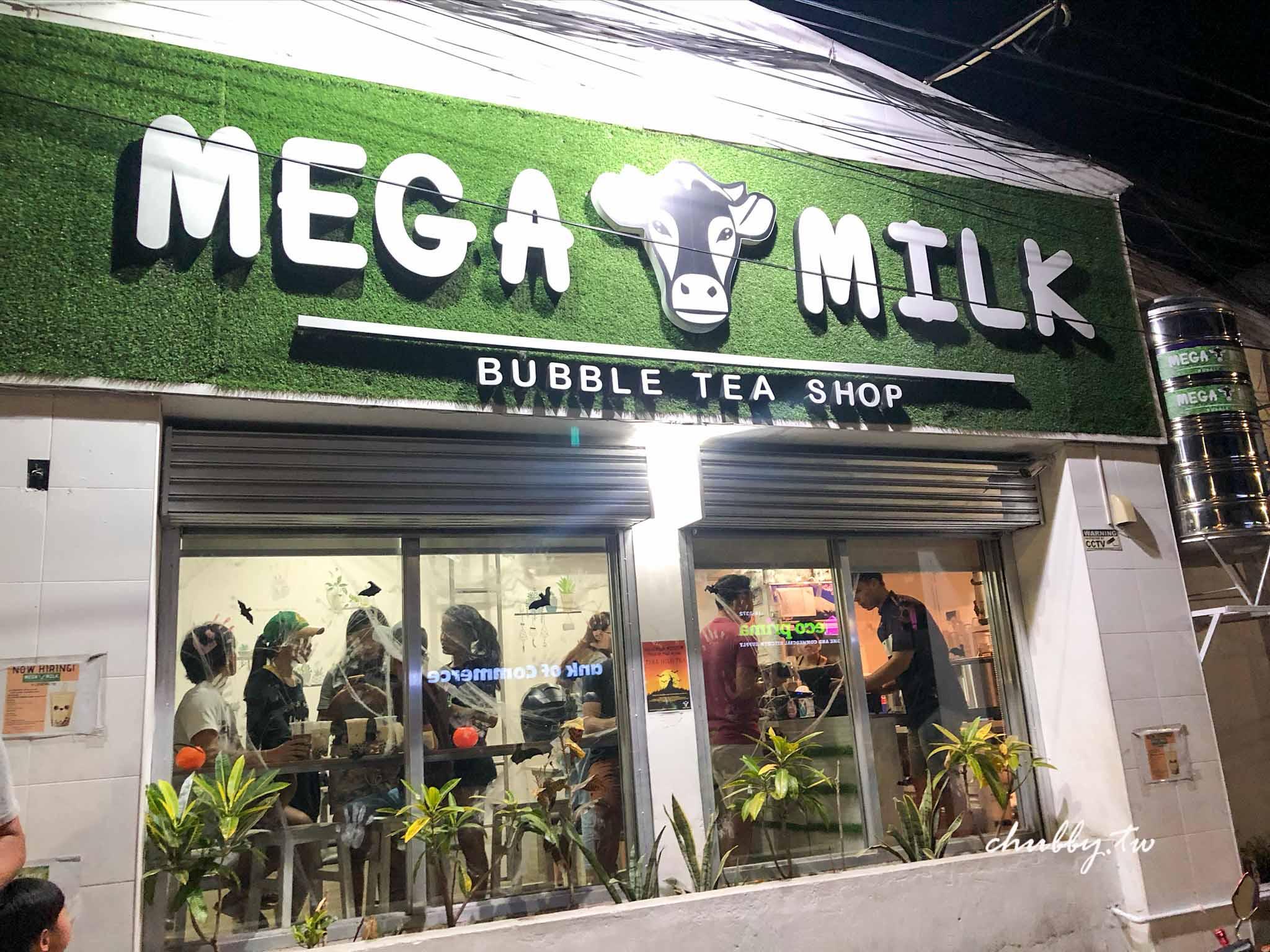 宿霧必買!遊學生私藏珍奶名店Mega Milk:正統台灣味!交大高材生的珍珠奶茶店