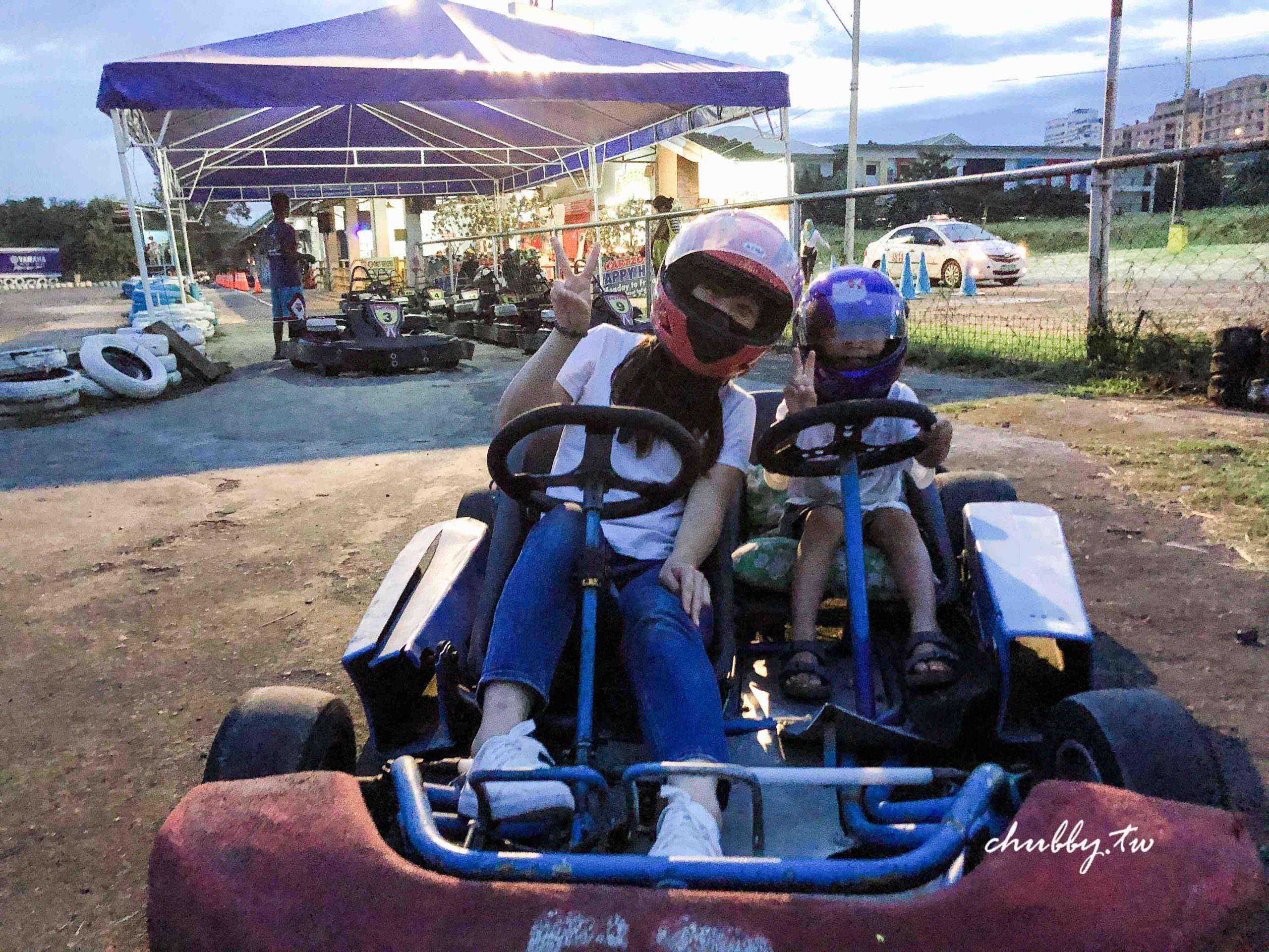 宿霧自由行,宿霧遊學行程推薦:Go-Karting跑跑卡丁車Cebu Kartzone