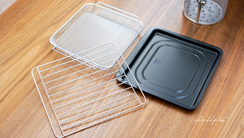 EL伊德爾氣炸烤箱:比氣炸鍋還強大的旋轉烘烤功能!氣炸烤箱食譜分享