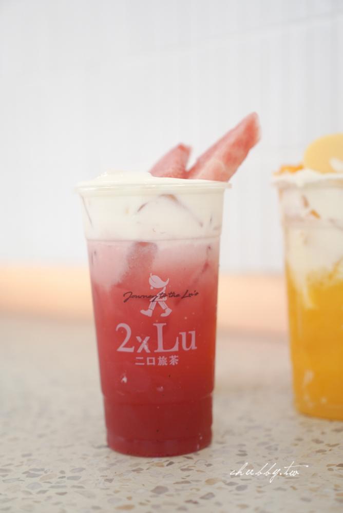 二口旅茶2xlu,信義區最有潛力的新創茶飲品牌真實心得,青檸芭樂必點!二口旅茶菜單價格、必喝茶飲分享