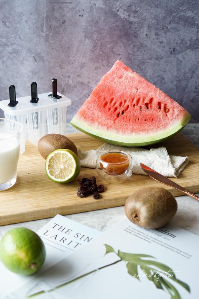 大暑養生:跟著24節氣養好身│西瓜冰棒食譜做法