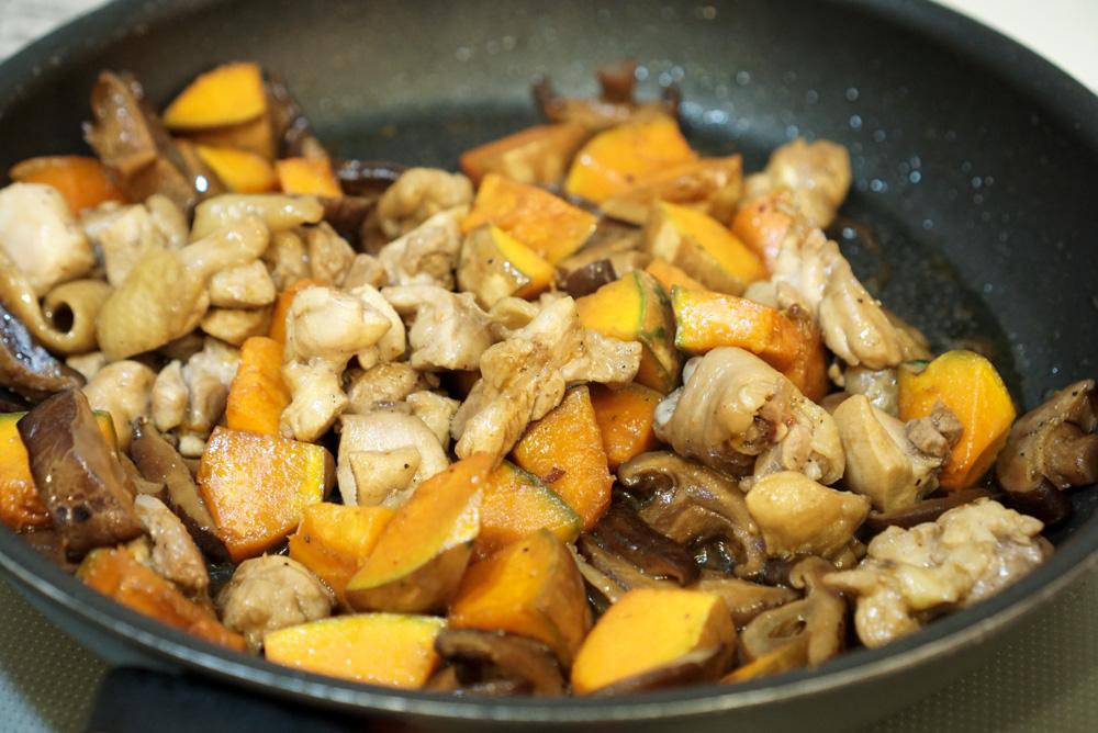 立秋養生食補:南瓜雞肉炊飯做法食譜