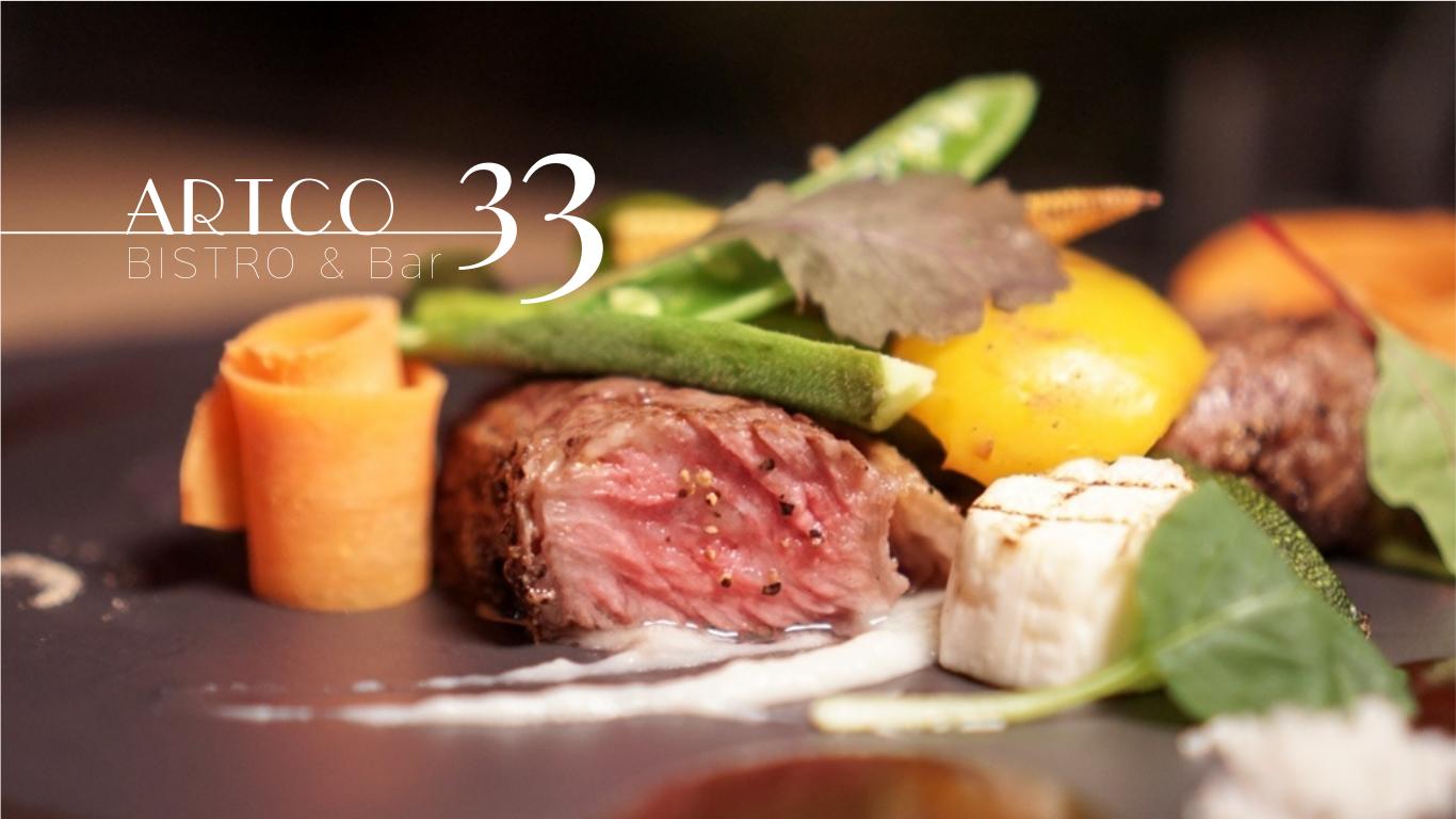 典藏33觀景餐廳│在33樓高空俯瞰北市百萬夜景、遠眺101、俯瞰新北耶誕城景觀