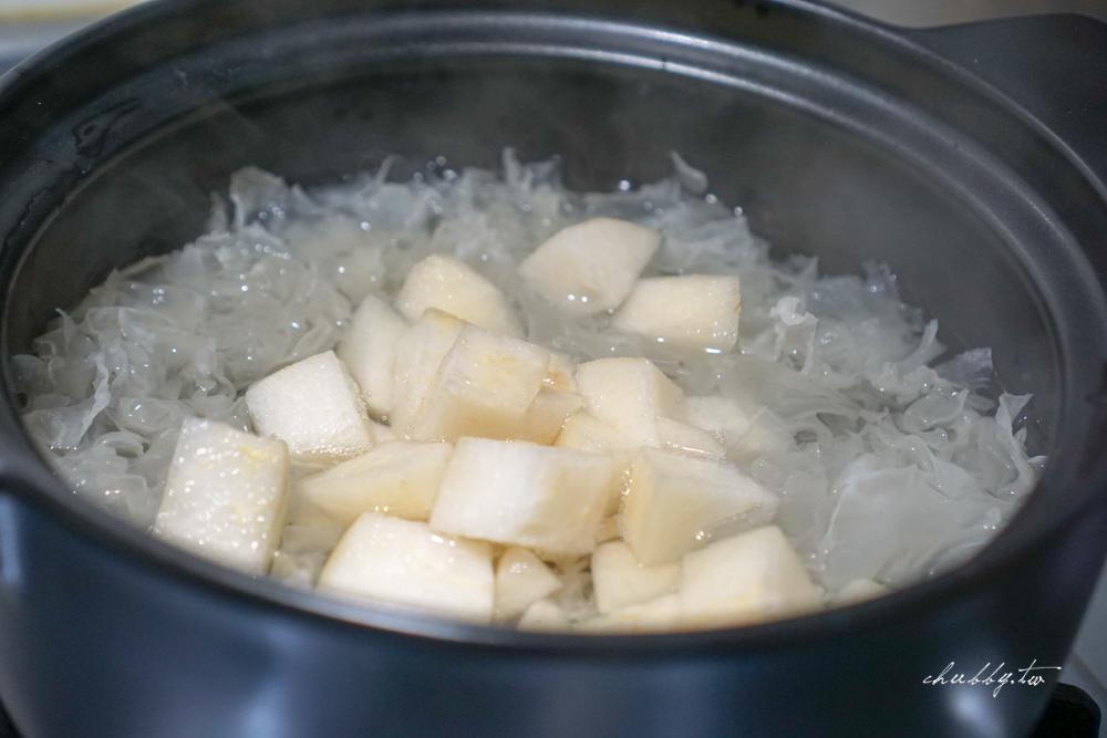 冰糖雪梨銀耳湯│24節氣飲食│白露養生食譜