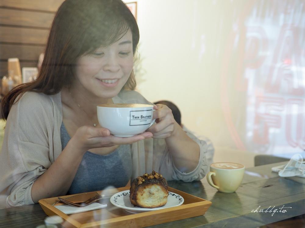 Twin Brothers Coffee雙胞胎咖啡台北車站美食,台北最好吃的肉桂捲、本和香糖咖啡