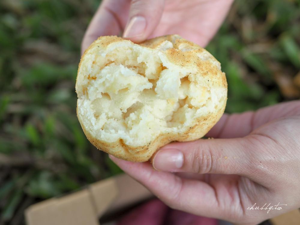 東橋商店韓式麵包,逼真地瓜麵包、馬鈴薯麵包,撕開來真的是地瓜內餡!捷運中山站美食
