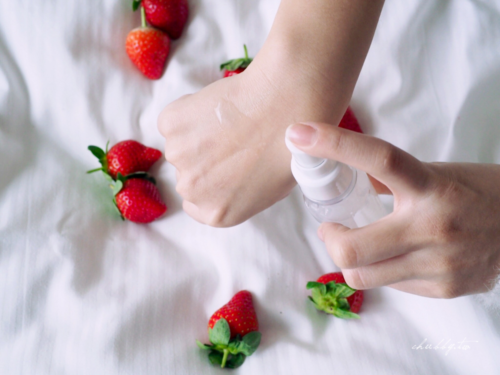 白草莓 WHITE ICHIGO│白草莓做的保養品!「桃薰」白草莓 精萃保養系列心得分享