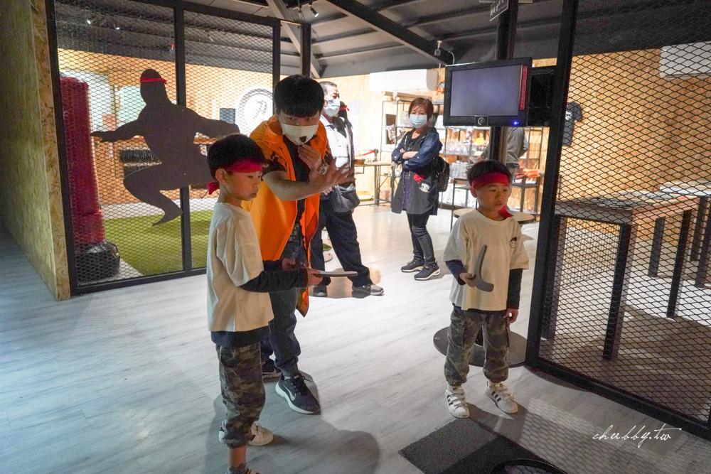 宜蘭礁溪景點|宜蘭忍者村,火影忍者迷必玩!親子一起來學習當忍者!全台首創忍者訓練場,10大忍術闖關、忍者主題餐廳享用鬼爪餐