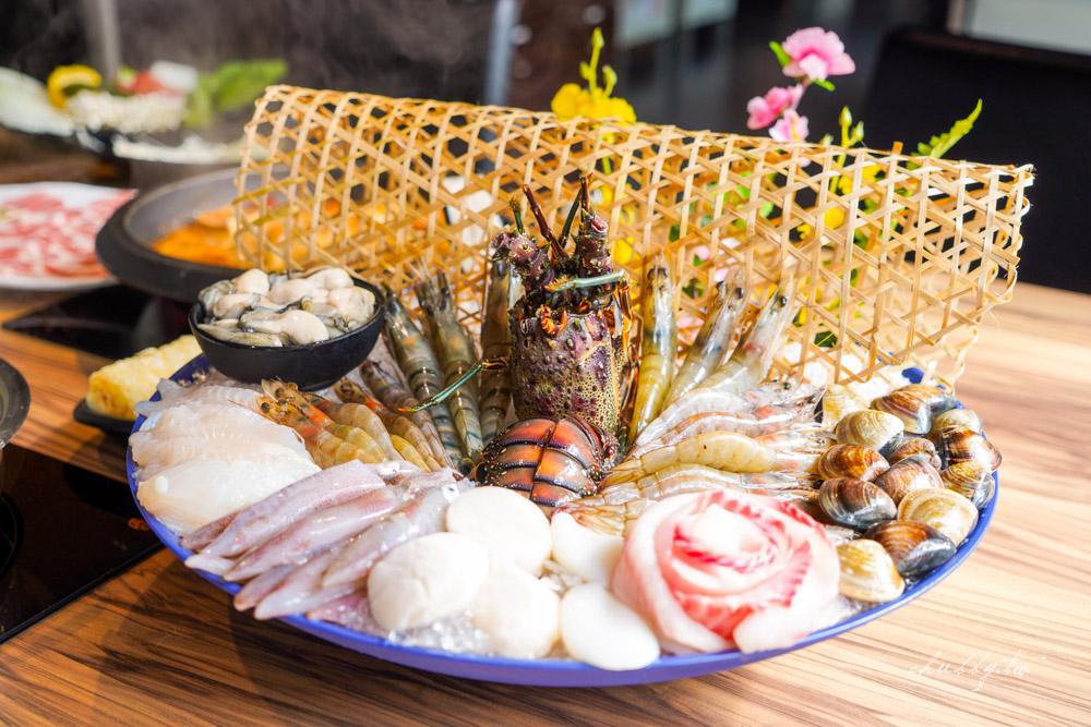 肉多多火鍋不只肉多,海鮮更浮誇!新推出爆炒海味石頭湯底,不怕你吃多,只怕你痛風!