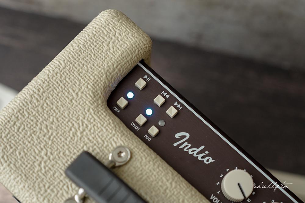 Fender Indio 無線藍牙喇叭開箱心得:乾淨透明清晰高音、沉穩帶勁的低音,復古與科技的完美結合