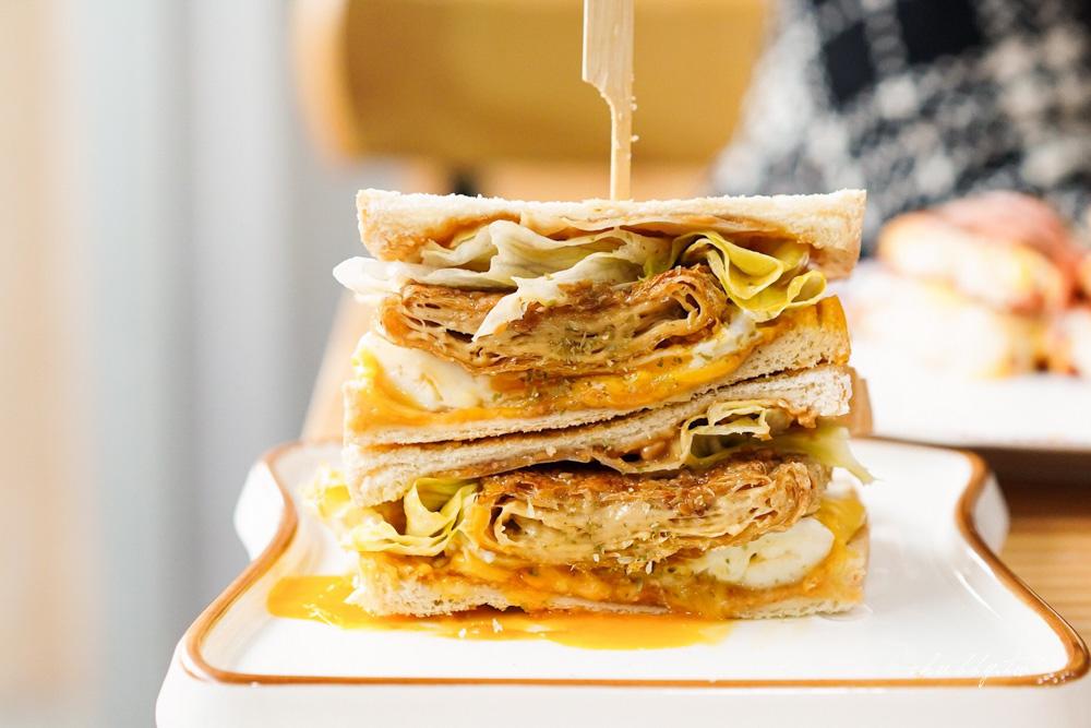 澎湖早餐推薦:舒心食光,超特別炸豆皮吐司!澎湖科技大學附近早午餐