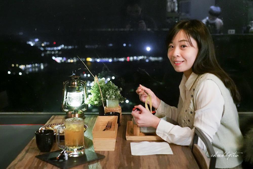 【逸茶酒室】九份老街內私房微醺酒室,坐擁絕美九份山城夜色,特色台灣調酒必嚐