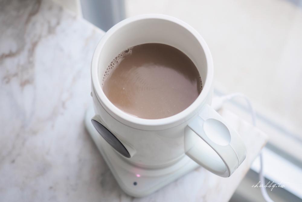 杯子可以控溫、發熱、攪拌、還能充電?可夢科技全智能無線養生杯開箱