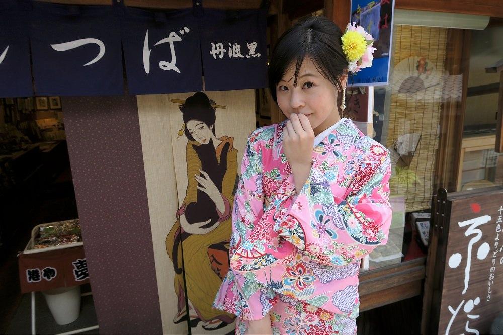 【日本京都自助行-Day5】岡本織物和服體驗+茶寮都路里(衹園本店)