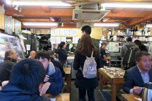 【日本東京自助行-D6】西新宿-鷹丸鮮魚店-新鮮生魚片、海膽、生蠔港口直送~超高CP值!